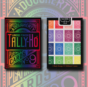 Cartas Tally Ho Especiales – Arco Iris